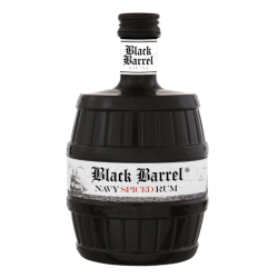 Black Barrel Navy Spiced Rum - A.H.Riise